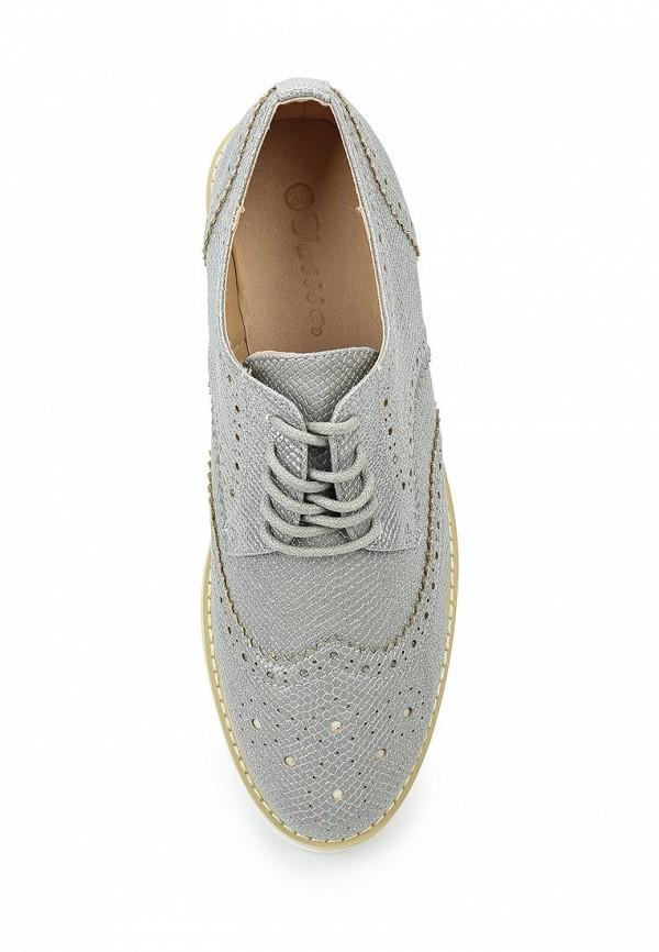 Фото 4 - женские ботинки и полуботинки Catisa серебрянного цвета
