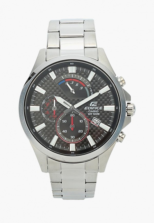 Купить Часы Casio, CASIO EDIFICE EFV-530D-1A, CA077DMBEZD9, серебряный, Весна-лето 2018