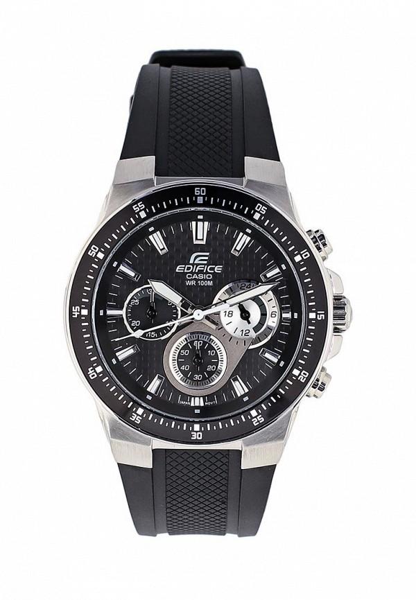 Купить Часы Casio, EDIFICE EF-552-1A, CA077DMGXX43, черный, Весна-лето 2018