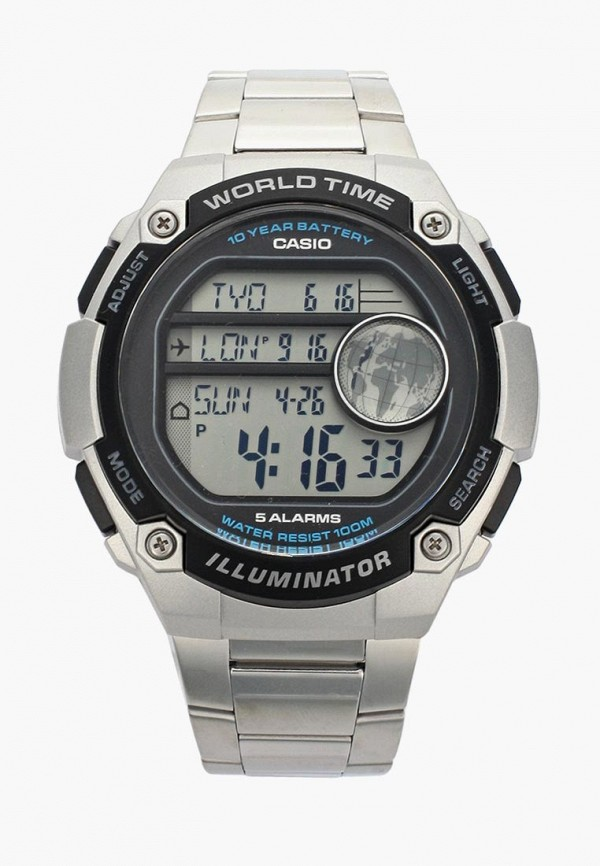 Часы Casio Casio CA077DMSMS74 часы casio casio ca077dwrbg34