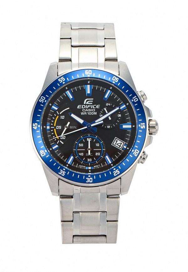Купить Часы Casio, Casio EDIFICE EFV-540D-1A2, CA077DMYEA38, серебряный, Весна-лето 2018