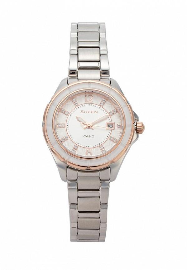 Купить Часы Casio, CASIO SHEEN SHE-4045SG-7A, серебряный, Весна-лето 2018