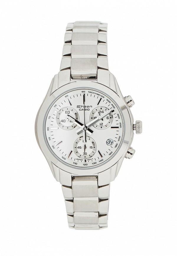 Купить Часы Casio, CASIO SHEEN SHN-5000BP-7A, CA077DWSMS69, серебряный, Весна-лето 2018