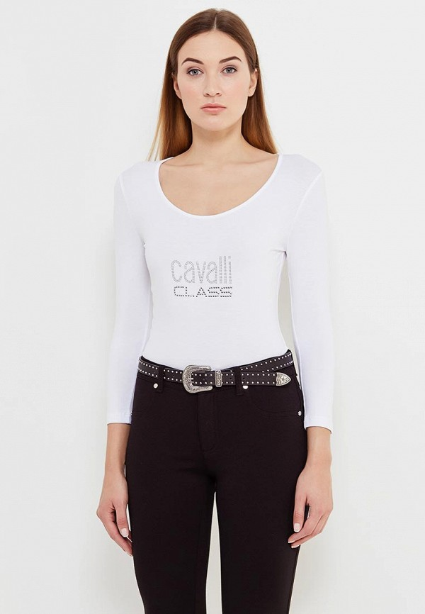 Лонгслив Cavalli Class Cavalli Class CA078EWUBI74