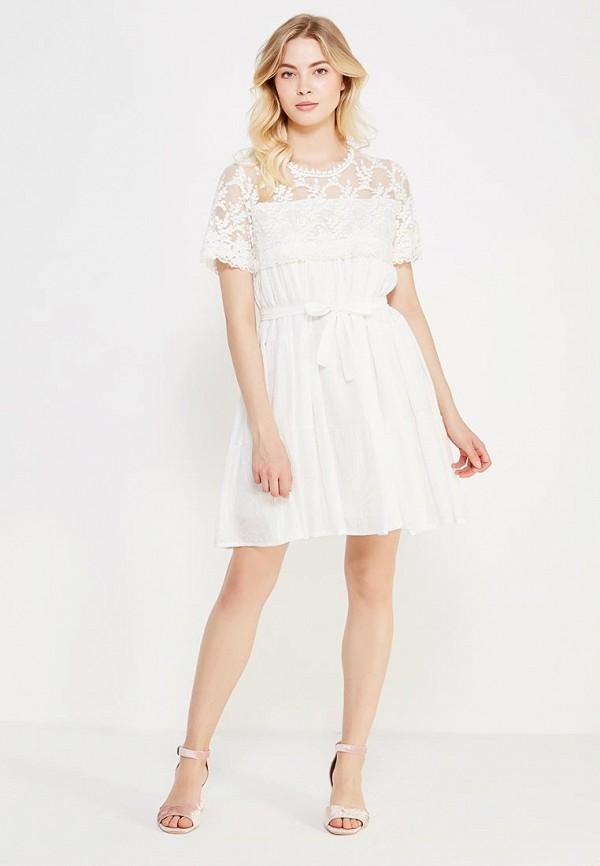 Фото 2 - женское платье Care of You белого цвета