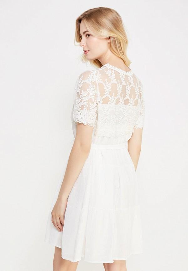 Фото 3 - женское платье Care of You белого цвета