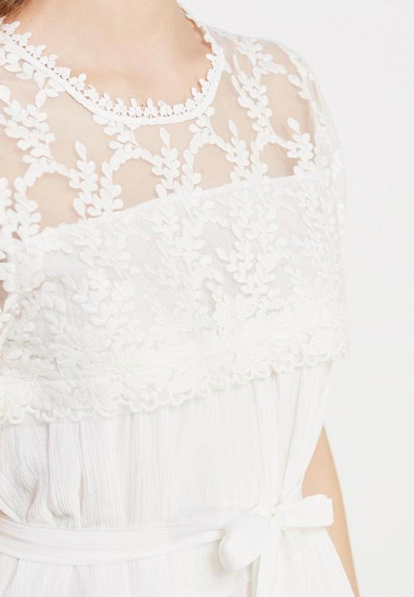 Фото 4 - женское платье Care of You белого цвета