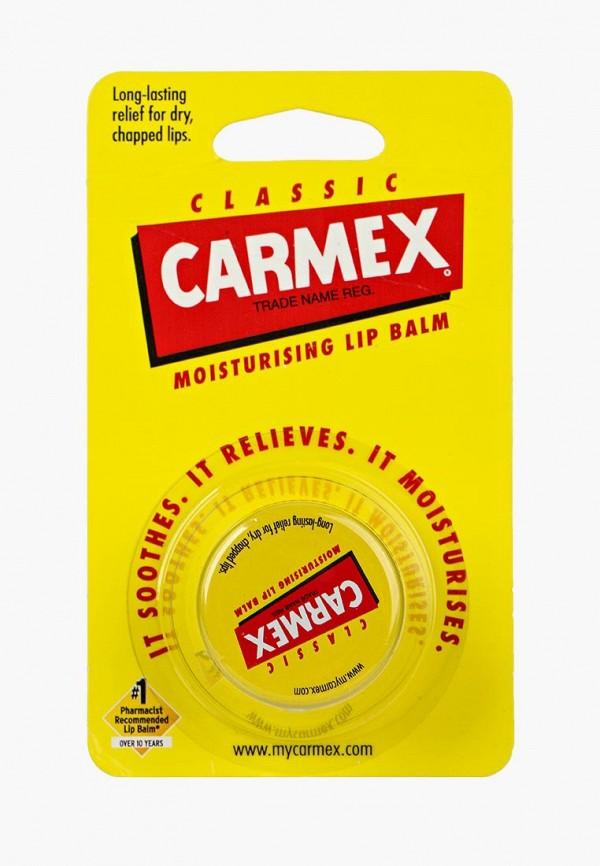 Бальзам для губ Carmex Carmex CA091LWPGG41 carmex бальзам для губ вишня cherry twist бальзам для губ вишня cherry twist 1 шт