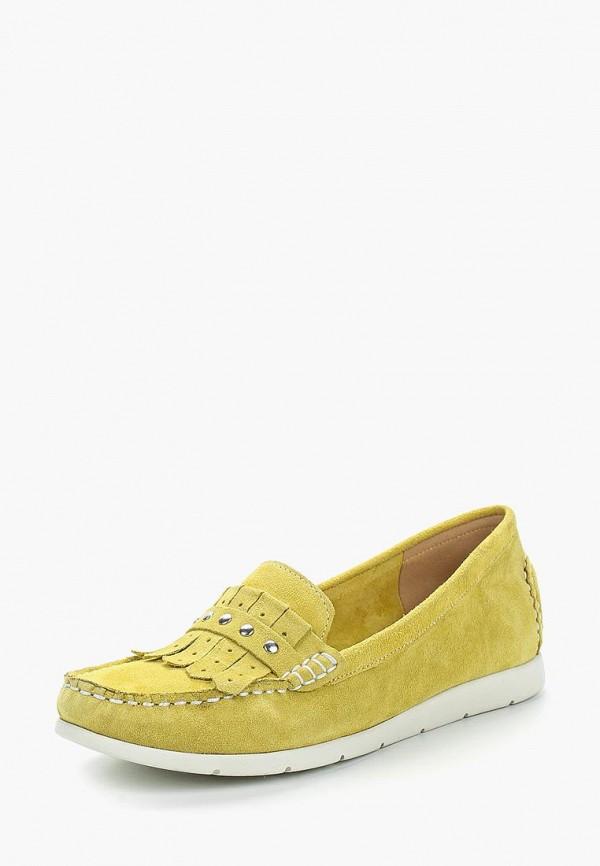 Мокасины Caprice цвет желтый сезон весна, демисезон, лето страна Пакистан размер 36, 37, 38, 39, 40, 41