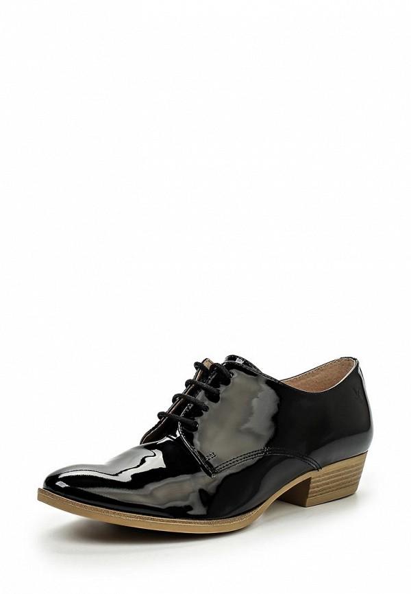 Женские черные кожаные ботинки на каблуке