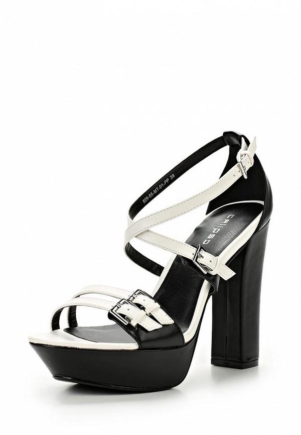 Босоножки на каблуке Calipso (Калипсо) 809-05-MT-01-PP: изображение 1