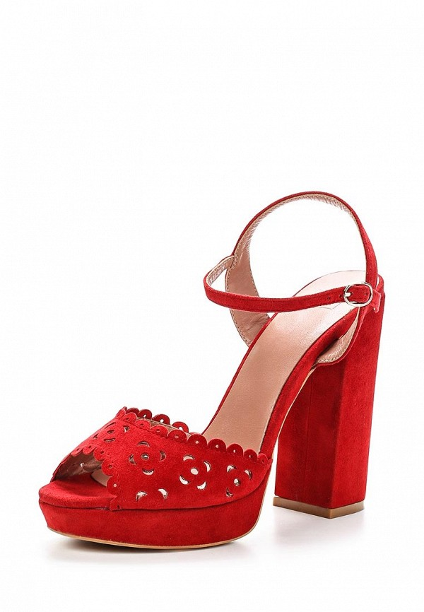 Босоножки на каблуке Calipso 285-02-FX-04-VK-01-WB: изображение 1