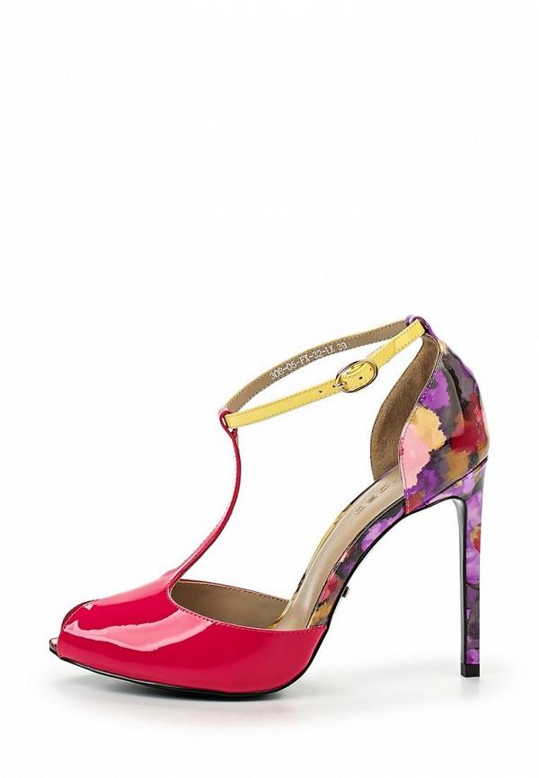 Босоножки на каблуке Calipso (Калипсо) 308-05-FX-32-LK: изображение 2