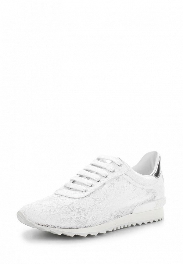 a4387f44 Женские белые кроссовки Casadei