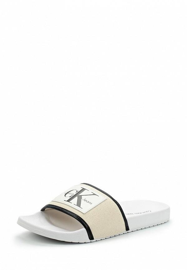 Купить Сандалии Calvin Klein Jeans, CA939AMAPPV7, бежевый, Весна-лето 2018