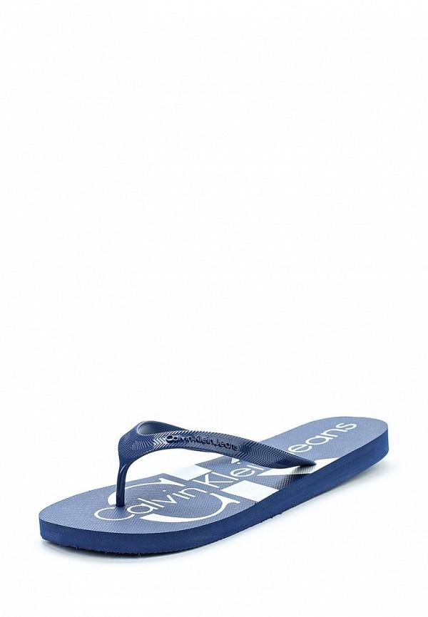 Сланцы Calvin Klein Jeans Calvin Klein Jeans CA939AMAPPX0 calvin klein jeans calvin klein jeans j2ij2 02173 9070
