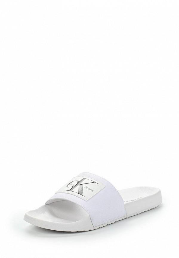 Фото Сланцы Calvin Klein Jeans. Купить с доставкой