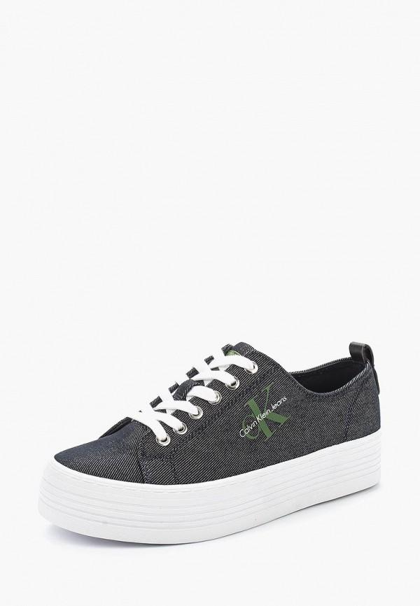 Кеды Calvin Klein Jeans, ZOLAH, CA939AWAPQB0, синий, Весна-лето 2018  - купить со скидкой