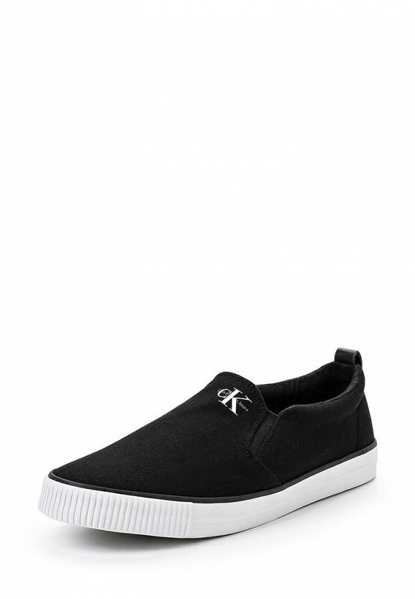 Купить Слипоны Calvin Klein Jeans, CA939AWSJU39, черный, Весна-лето 2018