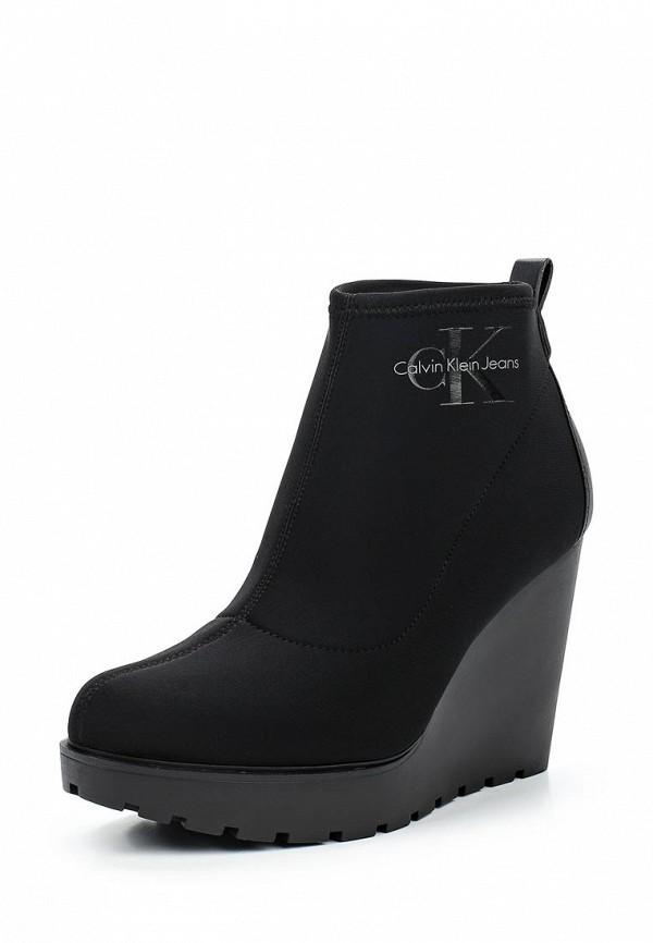 Ботильоны Calvin Klein Jeans Calvin Klein Jeans CA939AWWXM95 ремень женский calvin klein цвет черный k60k602122 0010 размер 95