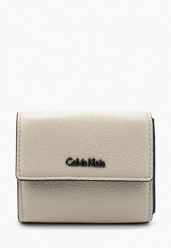 Купить Кошелек Calvin Klein Jeans, CA939BWAPQQ8, серый, Весна-лето 2018