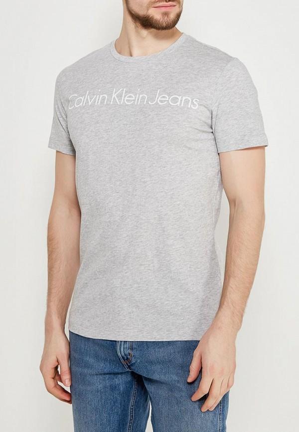 Купить Футболка Calvin Klein Jeans, CA939EMAPQW6, серый, Весна-лето 2018