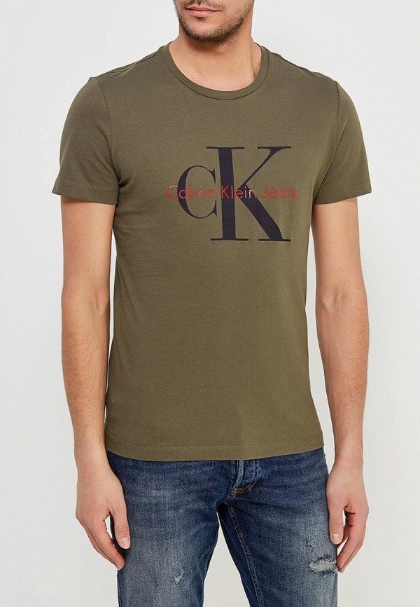 Футболка Calvin Klein Jeans Calvin Klein Jeans CA939EMAPQW9 calvin klein jeans j30j3 01230 4760