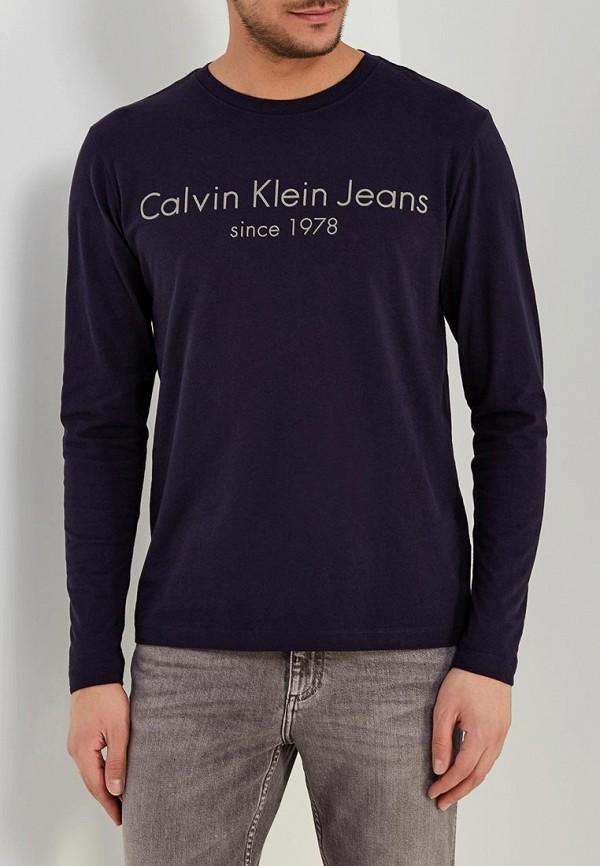 Фото Лонгслив Calvin Klein Jeans. Купить с доставкой