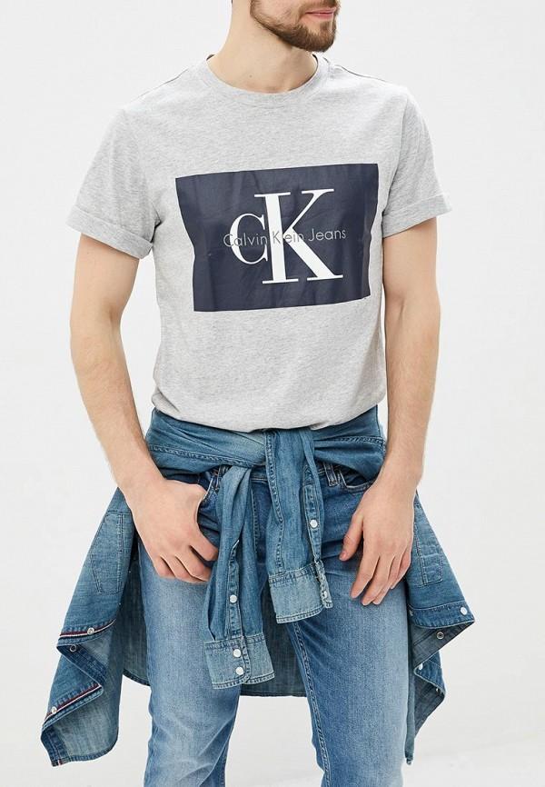 Купить Футболка Calvin Klein Jeans, CA939EMAPQY1, серый, Весна-лето 2018