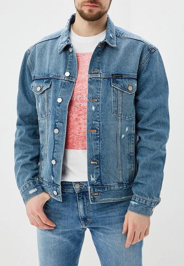 Куртка джинсовая Calvin Klein Jeans Calvin Klein Jeans CA939EMAPQY5 calvin klein куртка