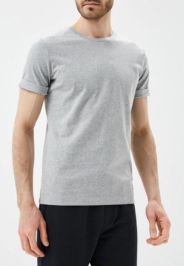 Футболка Calvin Klein Jeans, CA939EMAPQZ4, серый, Весна-лето 2018  - купить со скидкой