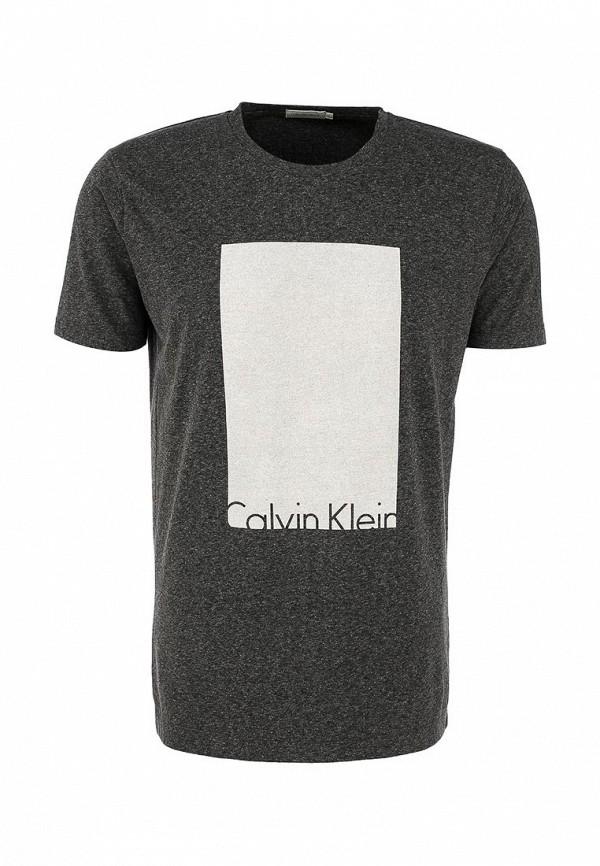 Футболка с надписями Calvin Klein Jeans J3EJ302661: изображение 1