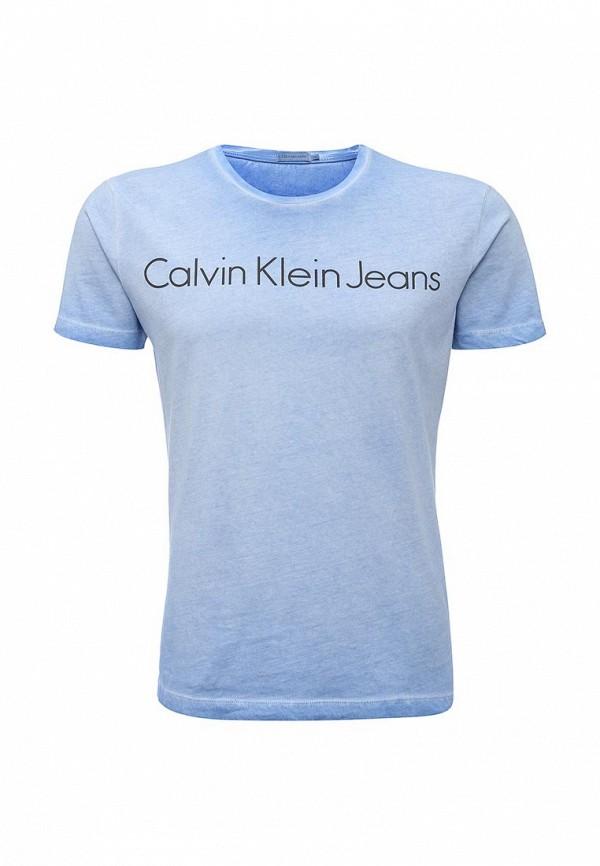 Футболка с надписями Calvin Klein Jeans J3EJ303836: изображение 1