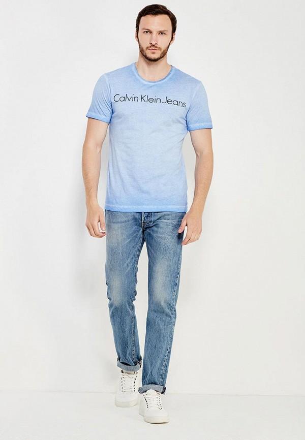 Футболка с надписями Calvin Klein Jeans J3EJ303836: изображение 3