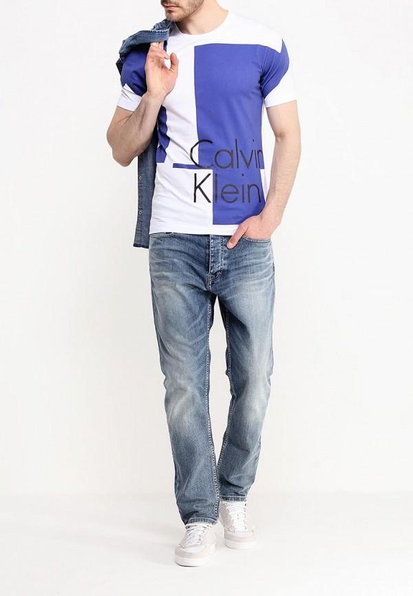 Футболка с надписями Calvin Klein Jeans J3IJ303638: изображение 2