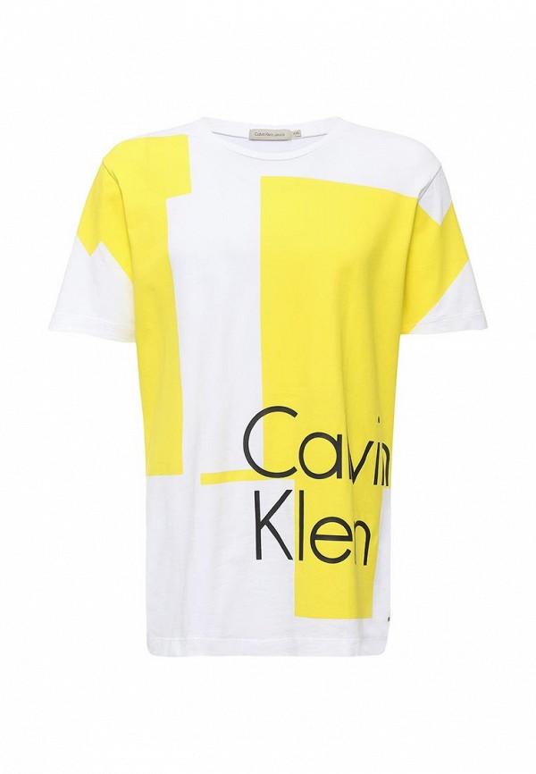 Футболка с надписями Calvin Klein Jeans J3IJ303638: изображение 5