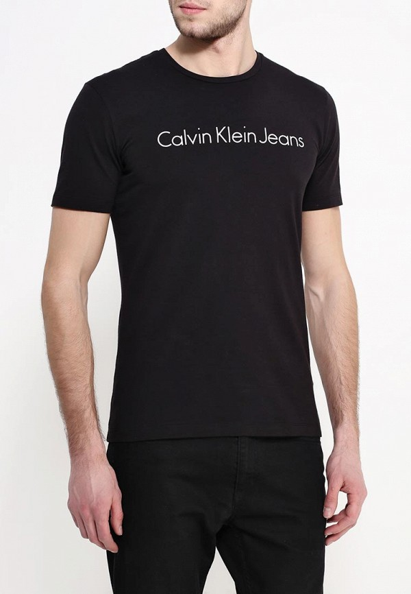 Футболка с надписями Calvin Klein Jeans J3EJ303543: изображение 4