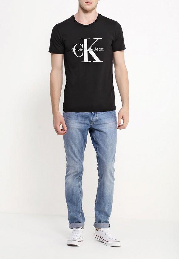 Футболка с надписями Calvin Klein Jeans J3IJ302251: изображение 3