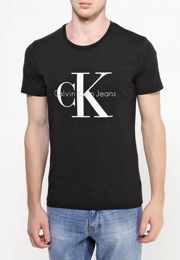 Футболка с надписями Calvin Klein Jeans J3IJ302251: изображение 5