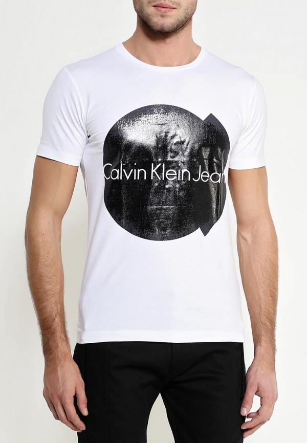 Футболка с надписями Calvin Klein Jeans J30J301081: изображение 3