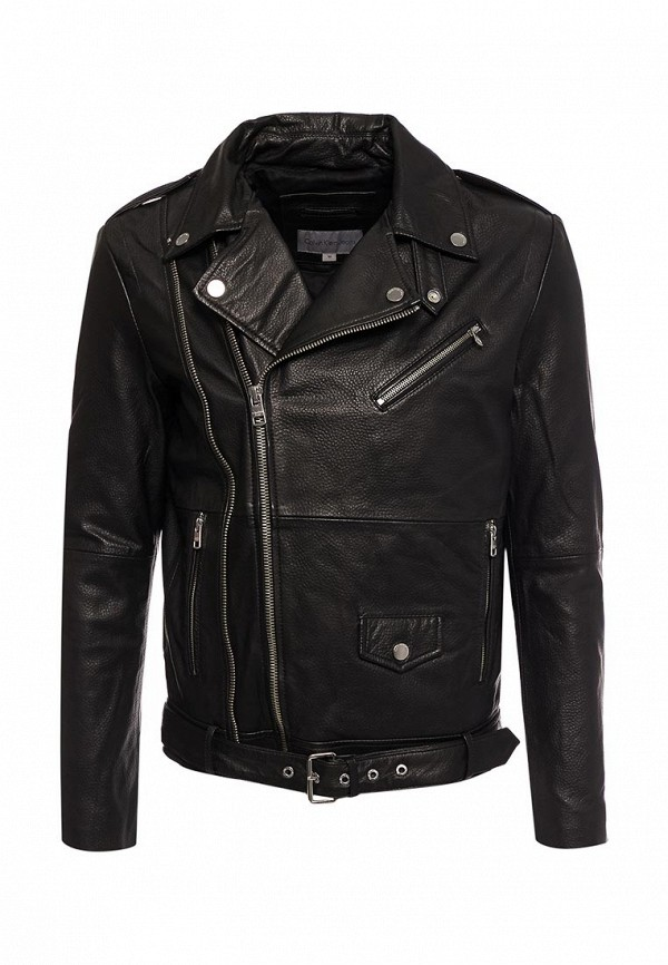 Куртка кожаная Calvin Klein Jeans Calvin Klein Jeans CA939EMZJT24 calvin klein куртка