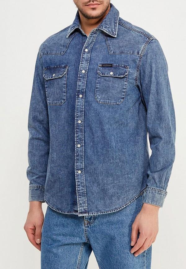 Купить Рубашка джинсовая Calvin Klein Jeans, CA939EMZJV36, синий, Весна-лето 2018