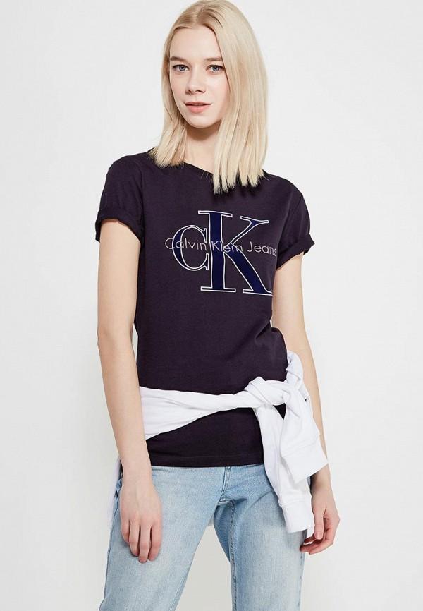 Футболка Calvin Klein Jeans Calvin Klein Jeans CA939EWAQIH8 calvin klein jeans футболка