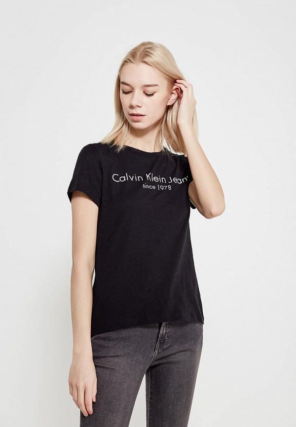 купить Футболка Calvin Klein Jeans Calvin Klein Jeans CA939EWAQIK3 недорого
