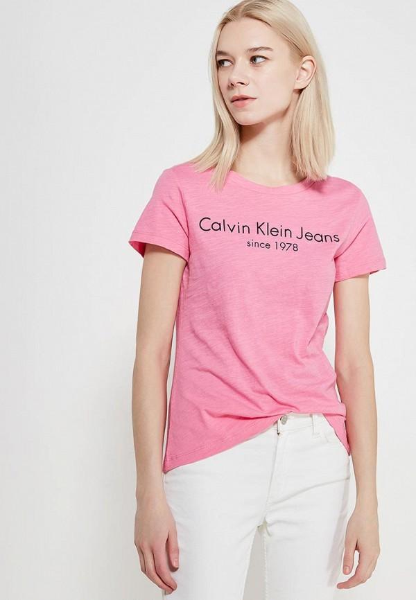 Футболка Calvin Klein Jeans Calvin Klein Jeans CA939EWAQIK6 футболка calvin klein jeans calvin klein jeans ca939ewzjs45