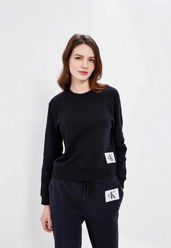 Свитшот Calvin Klein Jeans Calvin Klein Jeans CA939EWAUPS4 calvin klein women s textured beaded ruched jersey dress 4 black