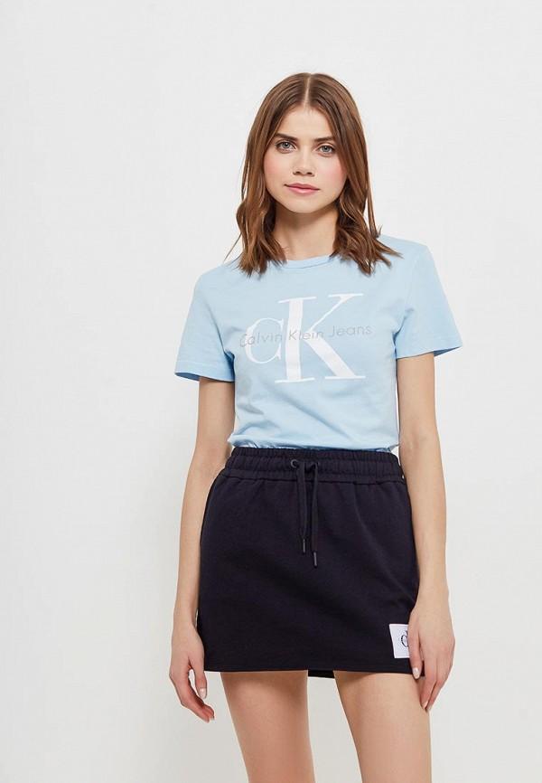 Футболка Calvin Klein Jeans Calvin Klein Jeans CA939EWAUPS7 calvin klein jeans j30j3 01230 4760