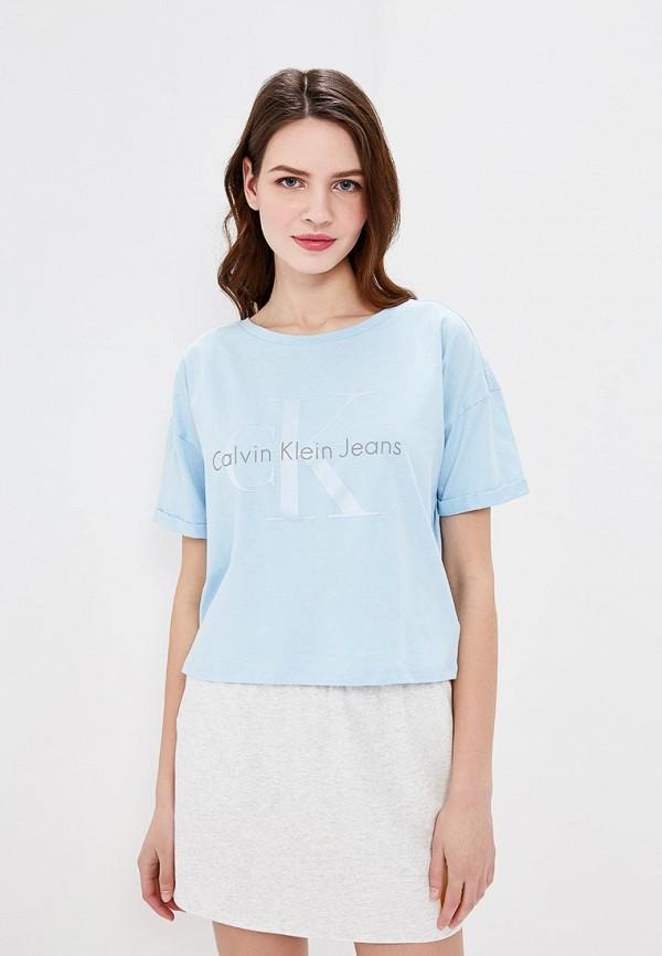 Футболка Calvin Klein Jeans Calvin Klein Jeans CA939EWAUPT0 футболка calvin klein jeans calvin klein jeans ca939ewzjs45