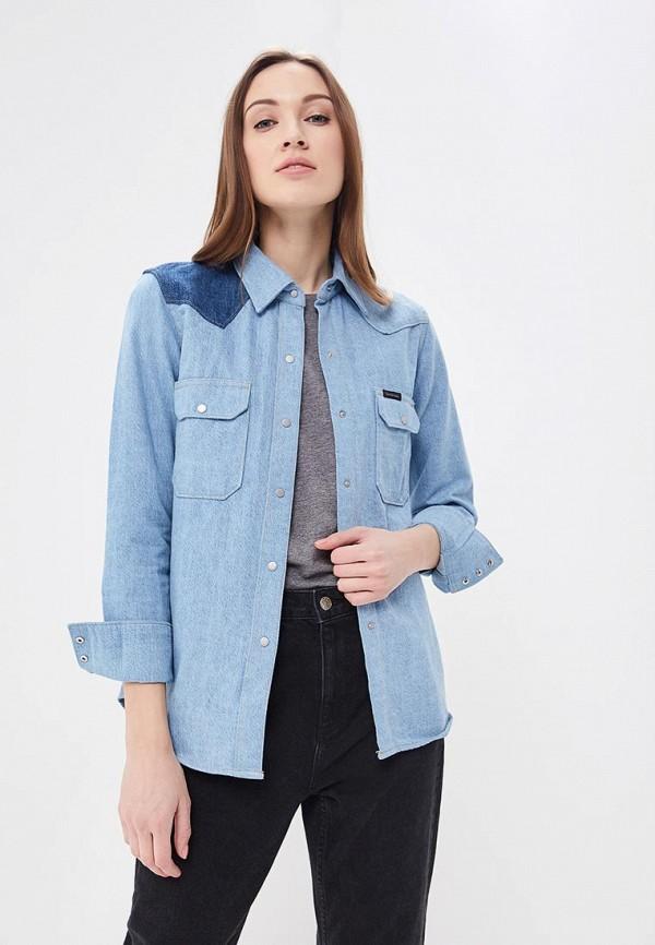 Купить Рубашка джинсовая Calvin Klein Jeans, CA939EWBCAY6, голубой, Весна-лето 2018
