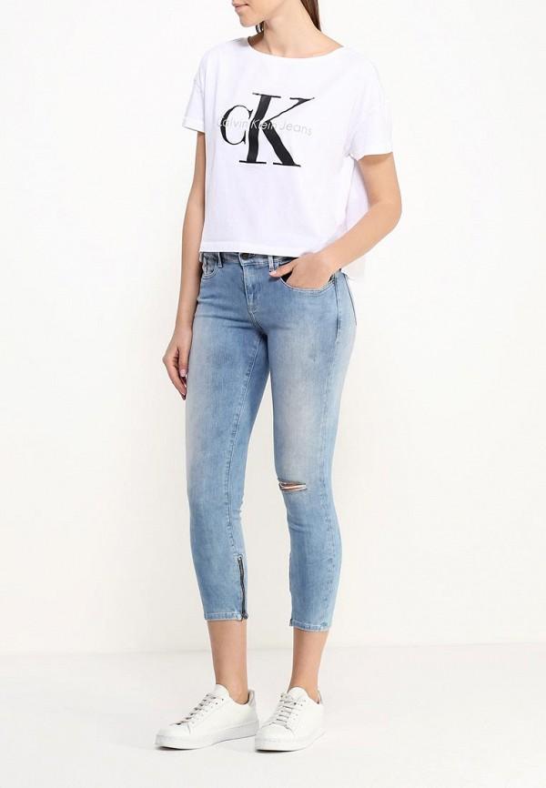 Зауженные джинсы Calvin Klein Jeans J2DJ204456: изображение 5